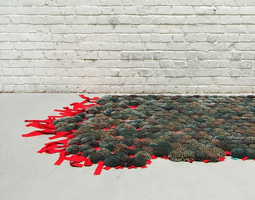 Lava carpet rug