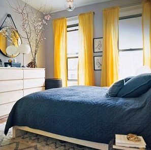 white blue aqua and yellow bedroom julianne moore