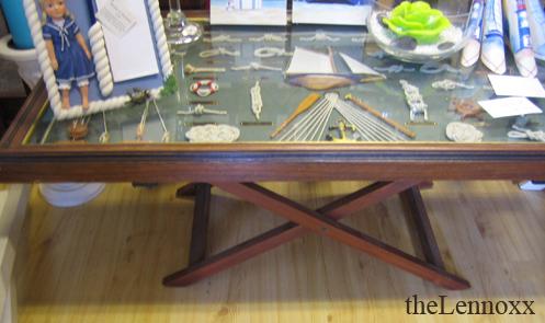 nautical coffee table plans
