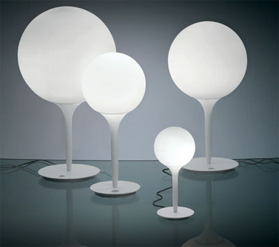 roud egg retro 70's lamps