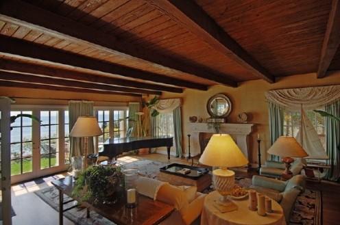 nautical beach home living room