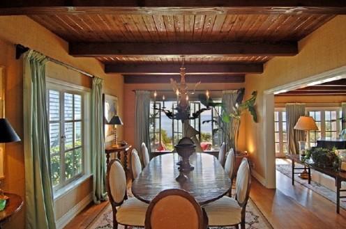 nautical beach home dining room