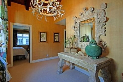 nautical beach home hall mirror