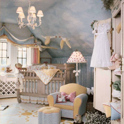 Baby Boys Nurseries on Baby Girl Nursery Decoration Fairytale