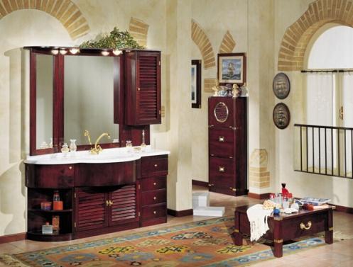 nautical interior bathroom, tan brige brown
