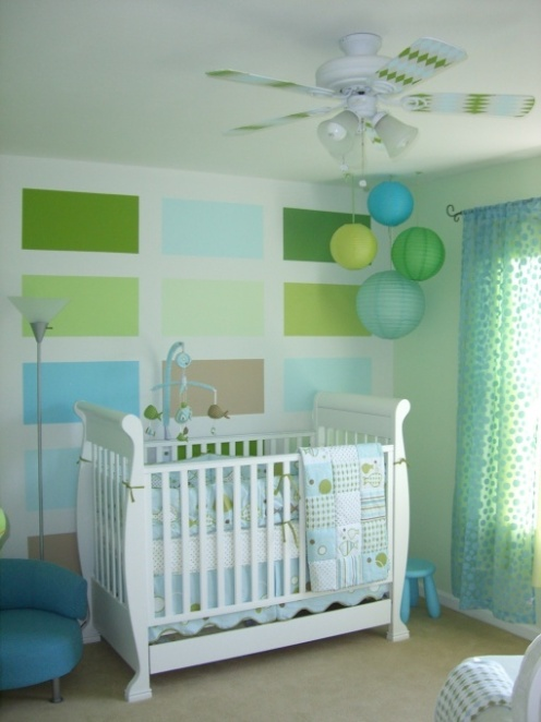Super cute nurseries thelennoxx for Cute baby boy bedroom ideas