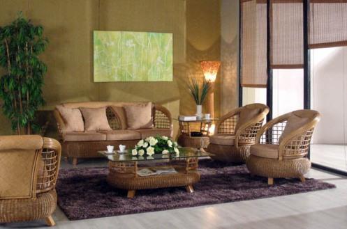 Casual Rattan Livingroom