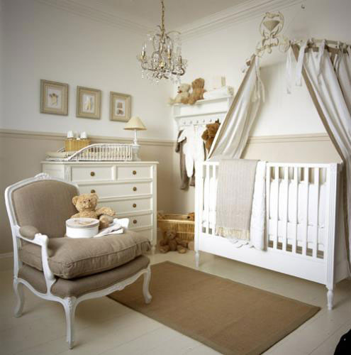 beige tan nursery