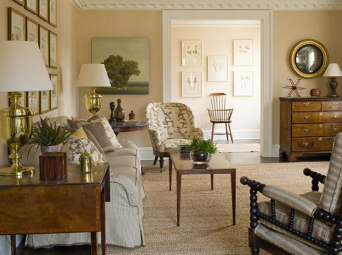 sophisticated living room cream