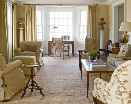 tan and cream sophisticated living room lounge