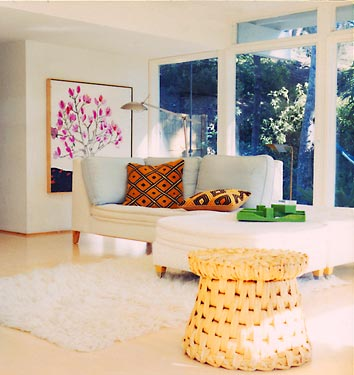 modern minimalistic living room lounge
