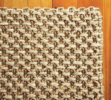 natural fiber rug carpet rough raw pattern