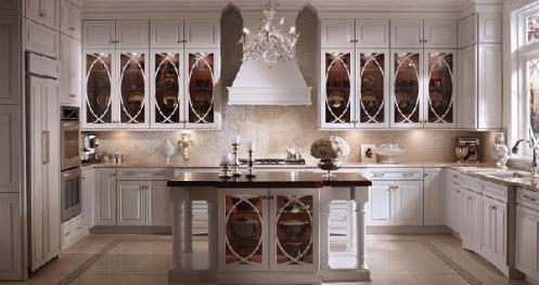 lovely white kitchen classy posh