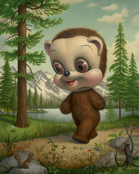 art of the day mark ryden teddybear