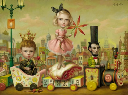 art of the day mark ryden