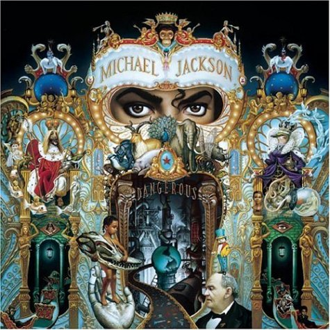 art of the day Michael jackson dangerous mark ryden