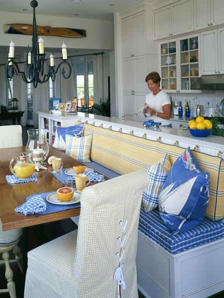 Kitchen blue yellow kitchen design photos - Yellow and blue kitchen ideas ...