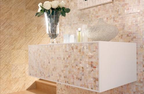sand beige cream color modern bathroom tiles