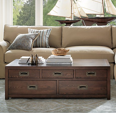 beige nautical style living room, couch sofa sailboat