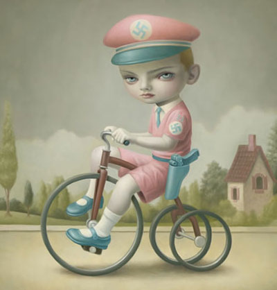 art of the day mark ryden boy