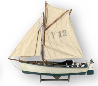 sail boat for nautical style home