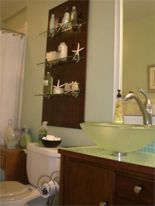 beach style home bathroom
