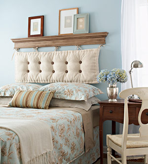 hot or not light blue and cream bedroom cool pillow headborad