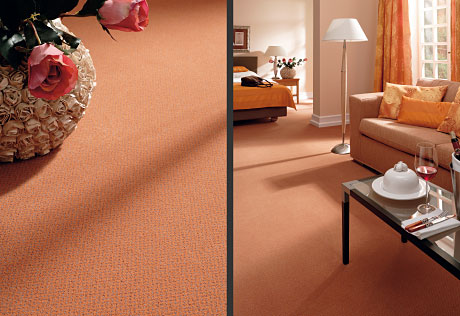 orange peach living room carpet rug