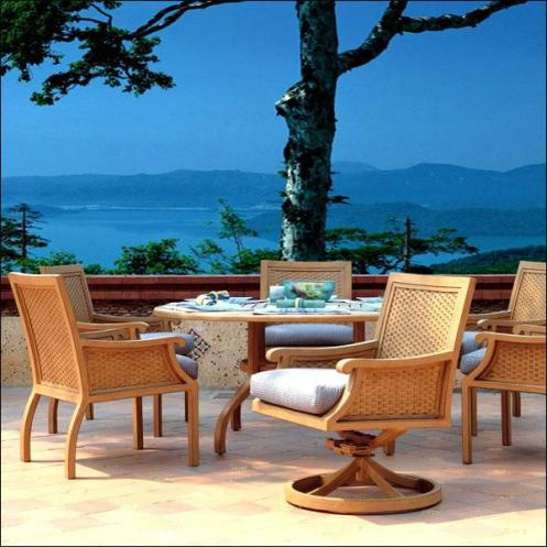 rattan wicker outdoor patio furniture swinging chair