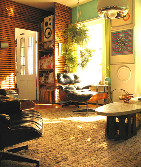 Authentic retro living room wary meyers