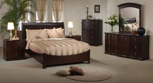 greige and cream classic bedroom