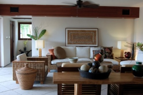 tropical living room - Tropical Interior Design Living Room