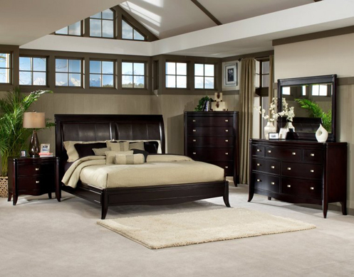beige greige and brwon modern bedroom
