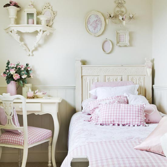 teenage girls bedrooms designs. White-country-teen-girl-room-