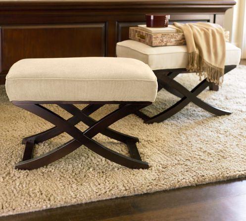 posh classic foot stool ottoman