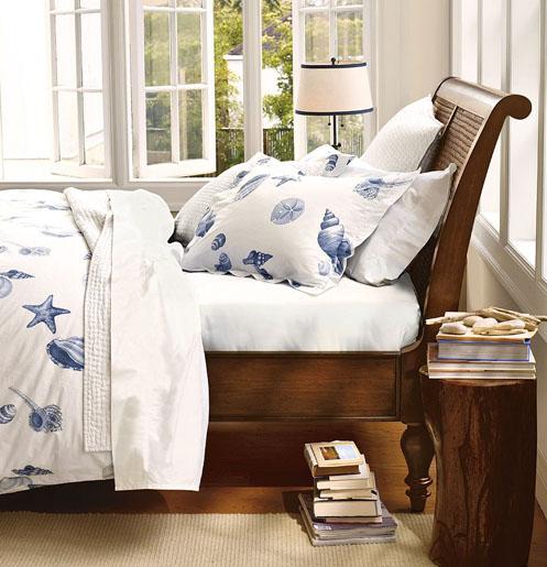 nautical beachy coastal style bedroom