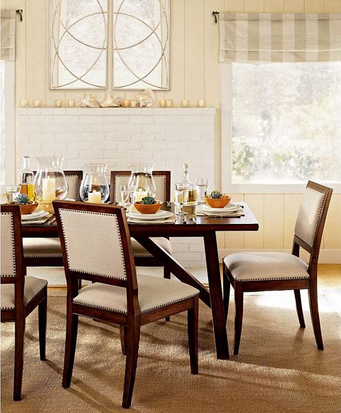 soft dining room