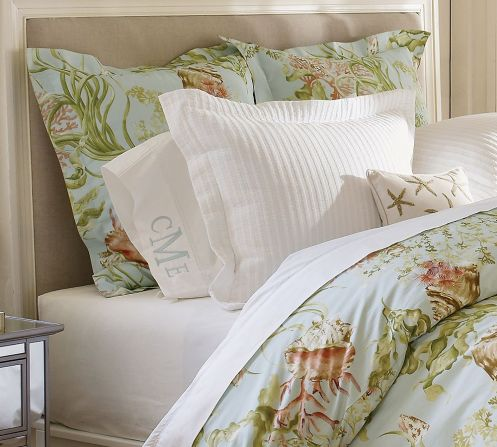 beachy coasta style bedroom bedsheets