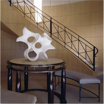 posh stairway