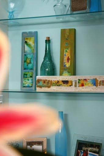 blue shelf detail