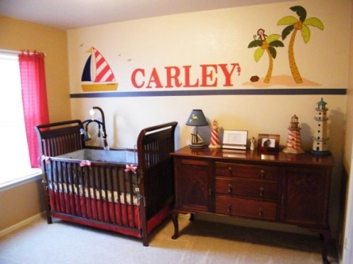 light yellow nursery