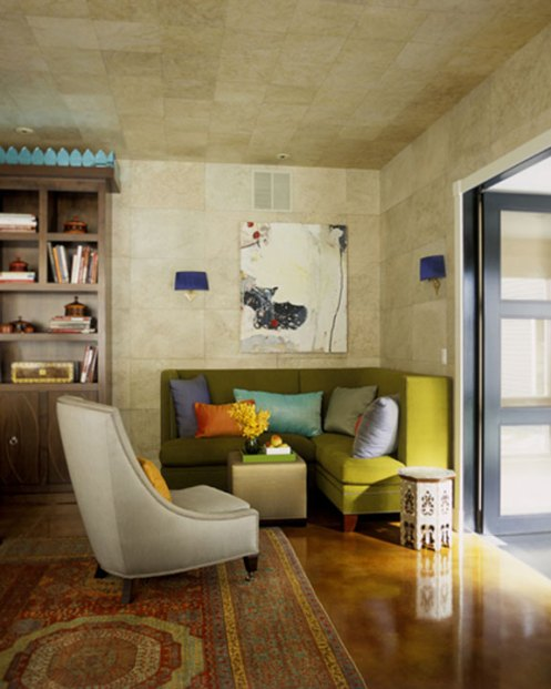 colorful nook