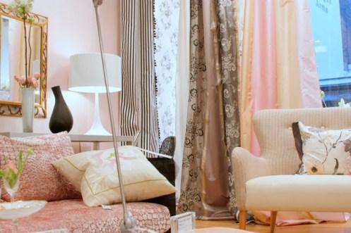 light pink interior