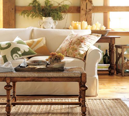 white yellow green cozy living room