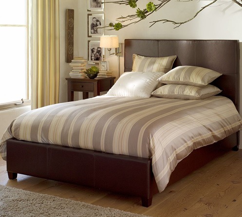 beige modern classic bedroom